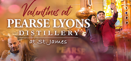 Valentine's Exclusive Pearse Whiskey & Gin Experience