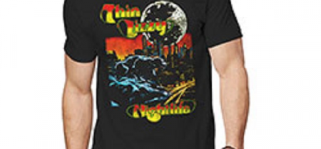 Thin Lizzy Nightlife Colour Tshirt