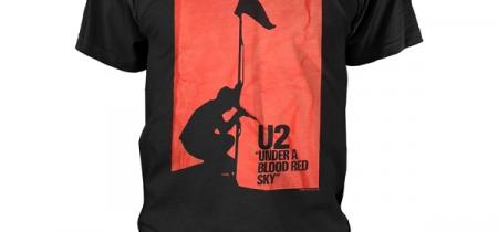 U2 Blood Red Sky Tshirt