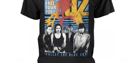 U2 Bullet The Blue Sky Tshirt