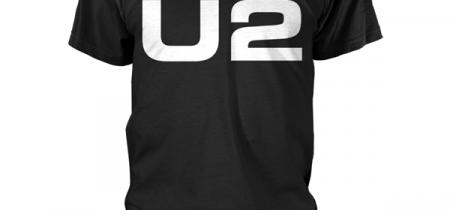 U2 Logo Tshirt