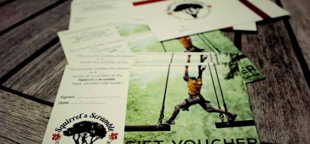 Squirrel's Scramble Gift Vouchers