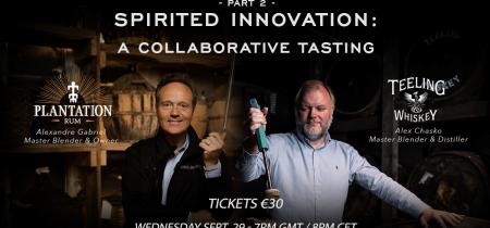 Spirited Innovation: A collaborative tasting