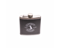 Real Leather Hipflask