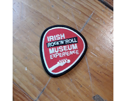 Irish Rock N Roll Museum Patch Badge