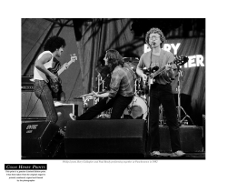 Rory Gallagher, Phil Lynott & Paul Brady by Colm Henry