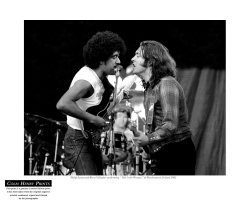 Phil Lynott & Rory Gallagher by Colm Henry Image