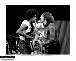 Phil Lynott & Rory Gallagher by Colm Henry