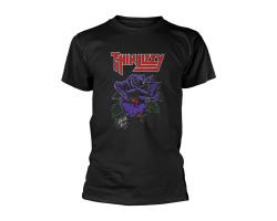 Thin Lizzy Black Rose Tshirt XXL