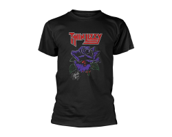 Thin Lizzy Black Rose Tshirt XL