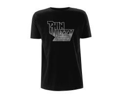 Thin Lizzy Gradient Logo Tshirt L