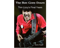 Thin Lizzy The Sun Goes Down Book Image
