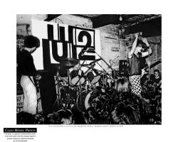 U2 Dandelion Market 1979 by Colm Henry