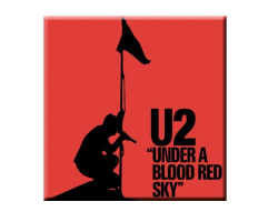U2 Blood Red Sky Magnet