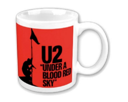 U2 Blood Red Sky Mug