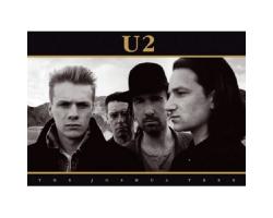 U2 Joshua Tree Postcard